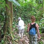 Hiking a Danta trail