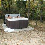 Hot tub delight!