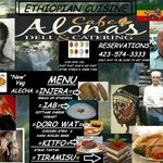 Ethiopian Cuisine This week Thursday- Saturday Dinner