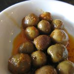 Olives as apps