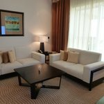 \lounge area of the Suite