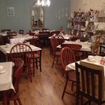 the main tea room at Lilly's