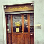 Front door Cantina Lucifero