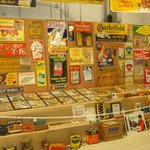 Labels and packaging from days long ago