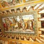 Villa d'Este - painted ceiling