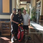 Arlene will book golf at Estrella Del Mar.