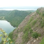 Active Taal Volcano crater