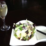 Great Salad with Interesting Dressing-Better Than MOST!