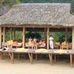 Dining by the Beach Bar