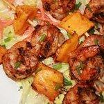 Seafood sate