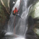 Sheet waterfall