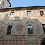 l'esterno del palazzo
