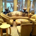 restaurant lounge area