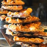 chocolate nut brittle