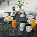 colazione in veranda