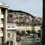 Aussicht zum Rossio und Castelo S. Jorge