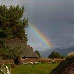 Rainbow over the 1700s Township