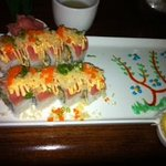 Ninja Roll (my fav) with tree & blossom art.