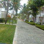walkway to the beach and Mamajuana restaurant