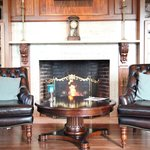 Fireplaces in our common areas