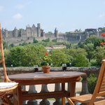 Carcassonne Guesthouse Terrace