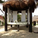The beach bed.  A perfect nap spot!