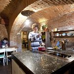 Sir Toby's Guest Kitchen - Sat at the stove