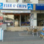 One and only chippy in Fethiye