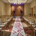 Hilton Santa Clara Wedding Ceremony