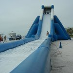 Water slide behind the ATradewinds we could use free