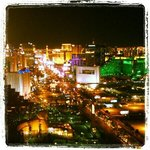 iconic view of the strip