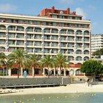 Fachada Frontal Hotel