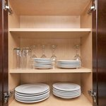All our kitchens are fully equipped with all plates, cutlery and cookware