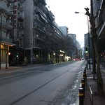 otelin bulunduğu sokak