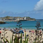 Porthminster beach with view towards St Ives