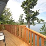 Private deck - The Eagle's Nest Suite