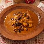 Super tasty Pechuga estilo Oaxaca. Con chapolinas!