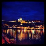 the Douro at night from my Instagram account by AngeleneFay