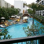 Swimming Pool as viewed from our room