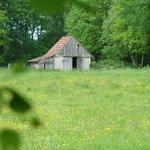 Derilect farm house along the way