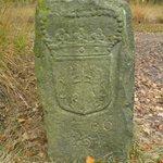 Old border stone