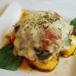 Grilled Palenta Lasagna - Vegetarian
