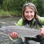 Rainbows on the fly - fish the Kenai!