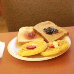 Waffles, breads, cereals, etc are all included with your stay