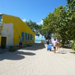 Short walk to beach and boat area, Gran Roques, Los Roques, Venezuela