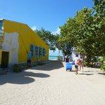 Short walk to beach and boat area, Gran Roques, Los Roques, Venezuela