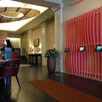 lobby with wifi and iPads