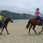 Paseo a caballos