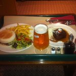 room service is amazing quality