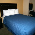 One of two double beds in room